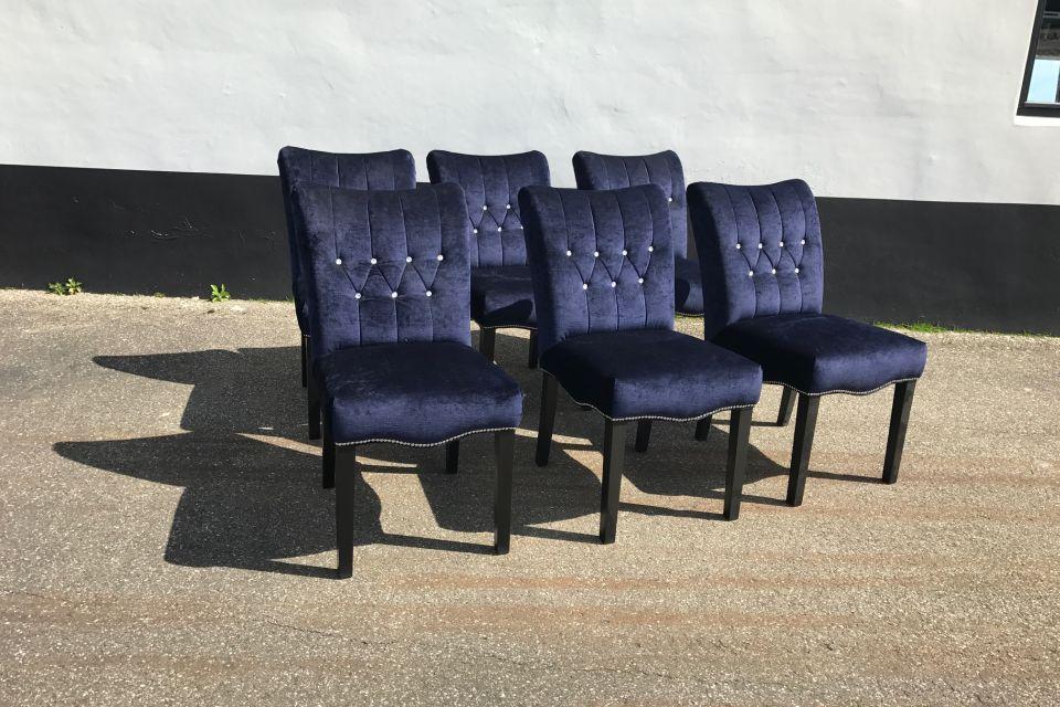 Eetkamerstoel capello set van 6 uitverkoop for Uitverkoop design meubelen