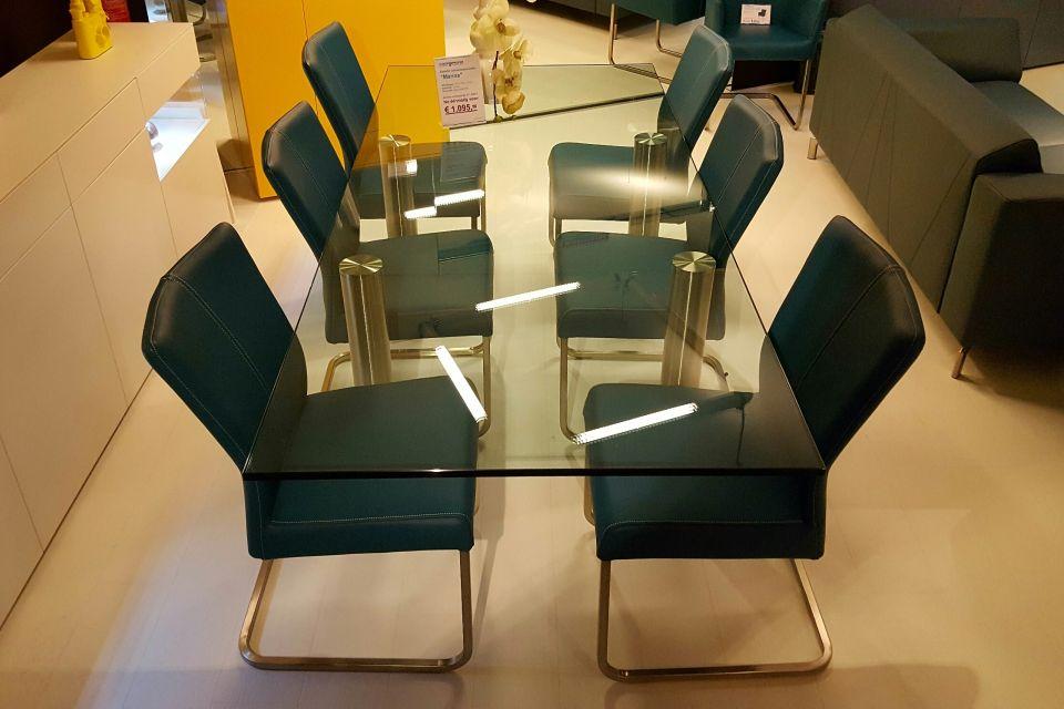 Eetkamerstoel velt set van 6 uitverkoop for Uitverkoop design meubelen