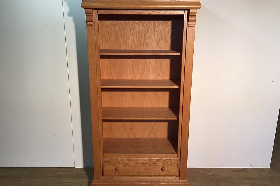 Moderne Eiken Boekenkast.Boekenkast Blank Eiken Uitverkoop