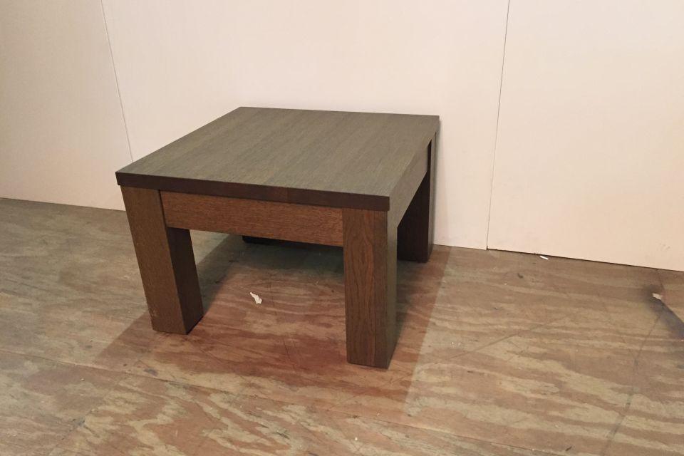 Hoektafel olijf eiken uitverkoop for Uitverkoop meubelen