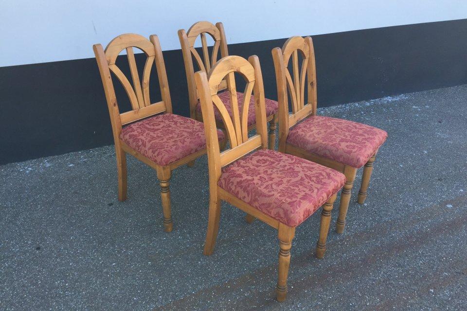massief grenen creafort stoelen uitverkoop