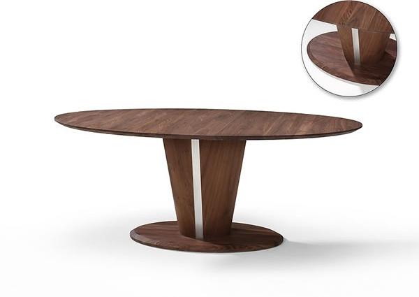 Eetkamertafel Ovaal: Eetkamertafel rond eettafel inhouse ovaal tafel.