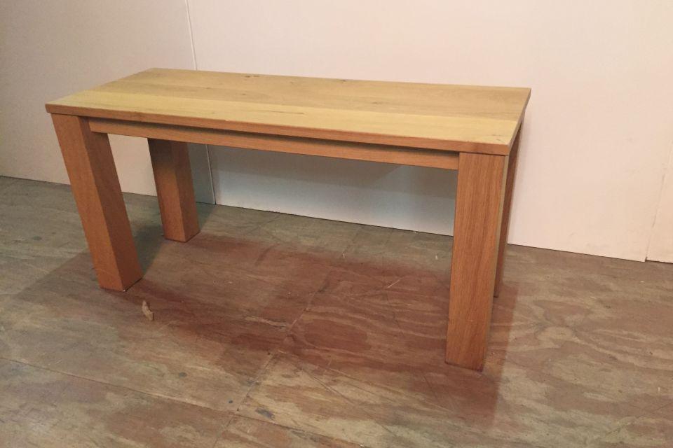 Wandtafeltje massief eiken uitverkoop for Uitverkoop meubelen